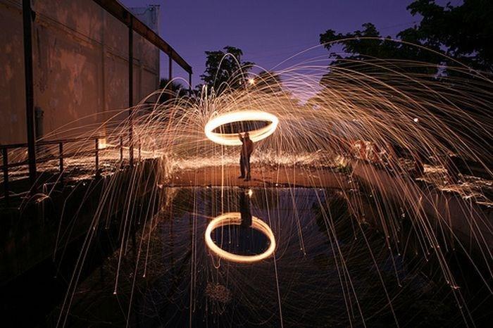 جشنواره لیزر در سنگاپور